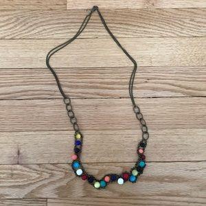 Jewelry - Vintage multi color necklace
